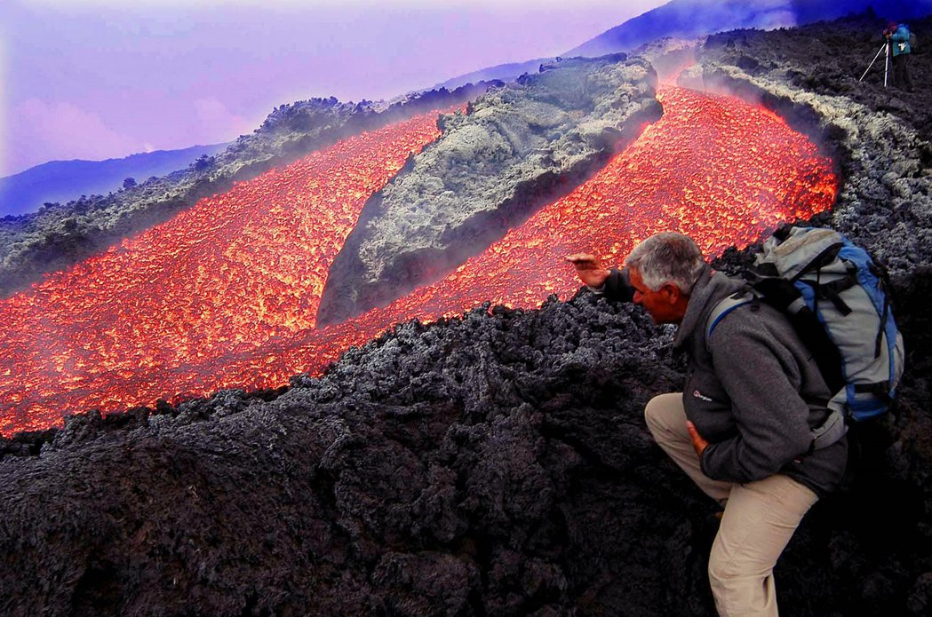 The particularity of Mount Etna has also attracted countless scholars to explore and study.Photo/Reuters