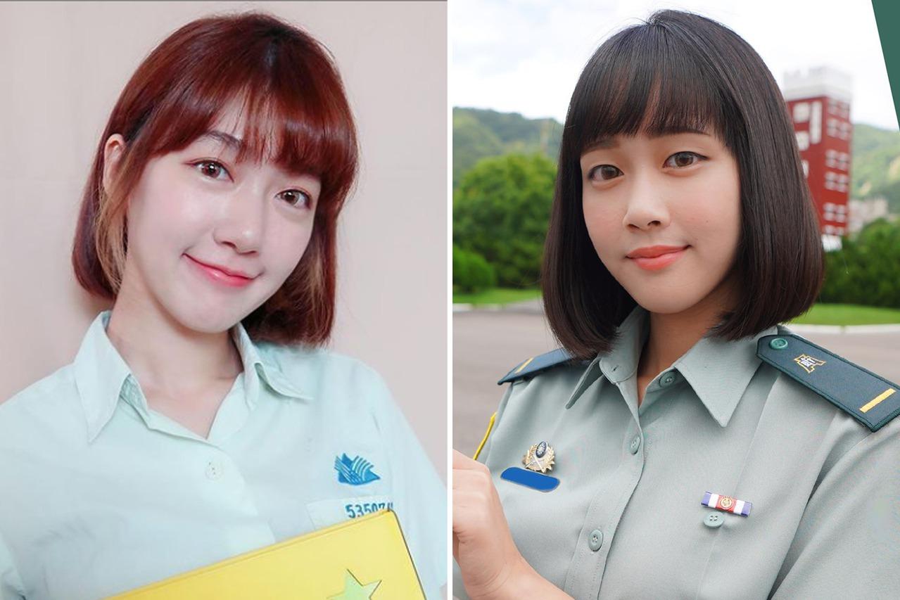 23女少尉長相神似「國民女友」泱泱 網友興奮:我想當軍人!