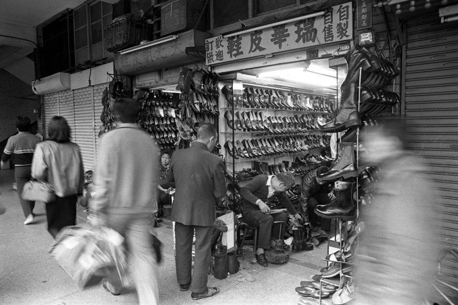 鼎盛時期的中華商場店家五花八門,這裡號稱「什麼都有,什麼都不奇怪」。圖攝於1985年。 圖/聯合報系資料照