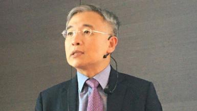 安本標準投信投資長彭炫通。本報資料照片