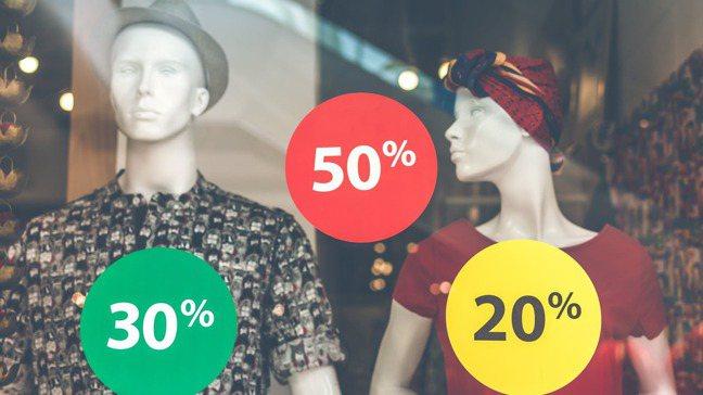 促銷活動往往引發人們的非理性購物。 pexels