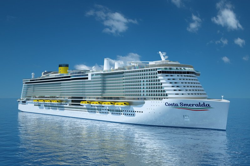 歌詩達翡翠號Costa Smeralda預計於2021年3月27日起自義大利開始巡迴3-7天的的航程。  圖/歌詩達提供