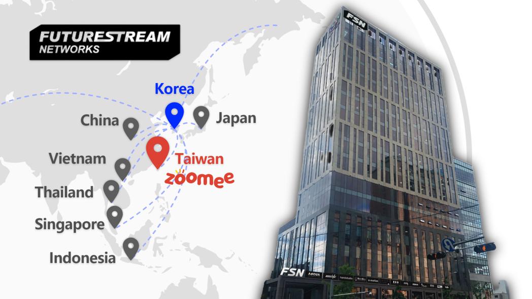 韓國最大行動廣告集團FSN以「Zoomee網紅平台」進駐台灣。Zoomee網紅平...