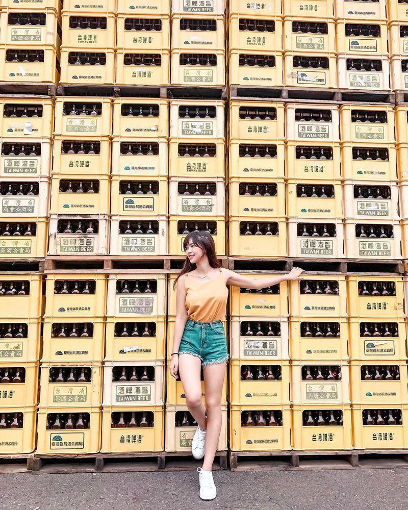▲全台黃色系景點推薦-宜蘭觀光酒廠。 (圖/lovelife0958, Instagram)