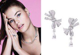 超美!GRAFF虛擬魔法使Tilda 將緞帶蝴蝶結變成珠寶