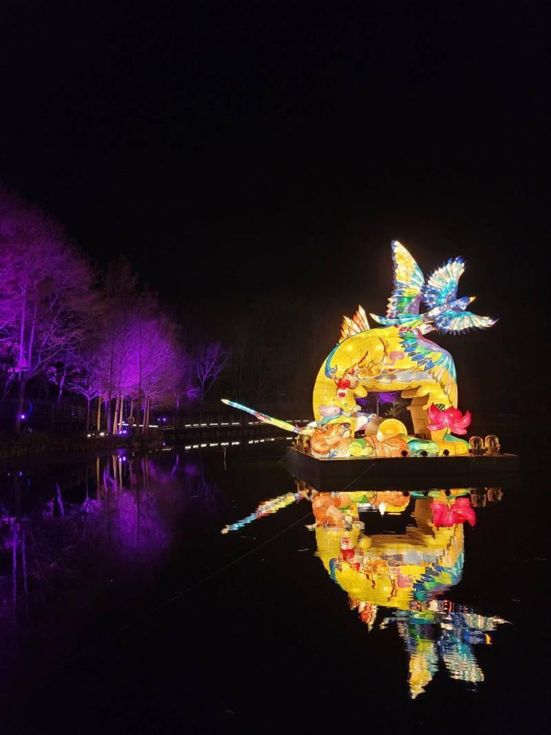 2021台灣燈會副燈元宵佳節移師日月潭展出。 圖/觀光局提供