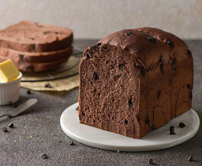 巧克力生吐司成品。圖/上優文化提供
