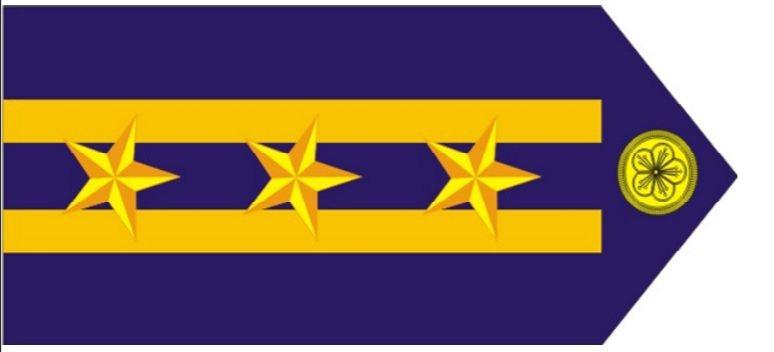 海巡是軍警文通用的單位,薦任七職等文職人員、軍職少校、警正三階、高級關務員二階、高級技術員二階與船長、輪機長,制服階級章上都有二線「三星」。圖/取自海巡署官網