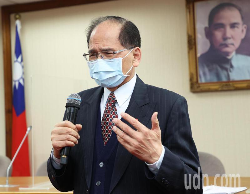 立法院長游錫堃。聯合報系記者潘俊宏/攝影