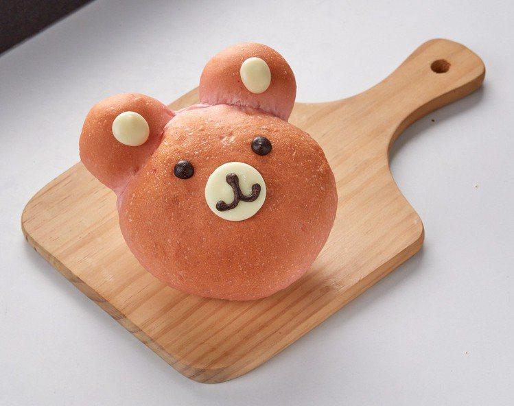 寶貝熊麵包,3月底前優惠價48元。圖/家樂福提供