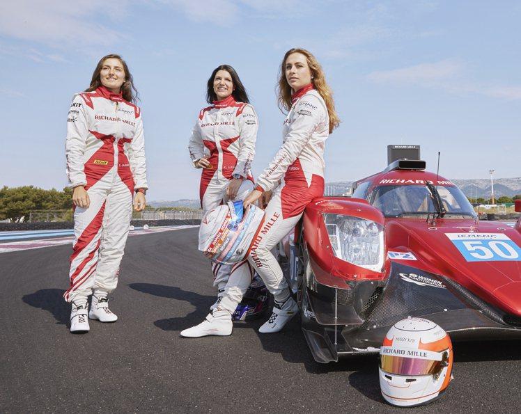 去年RICHARD MILLE首度結成的RICHARD MILLE全女性車隊,讓...