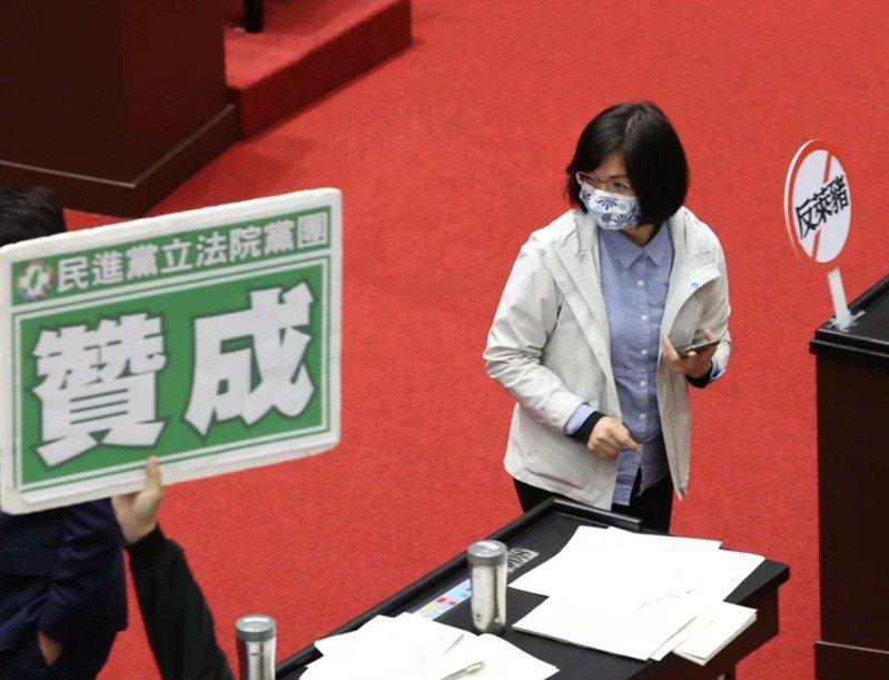 民進黨中評會25日將再度開會,討論立委林淑芬、劉建國、江永昌等三人在萊豬表決時跑票的懲處。本報資料照片