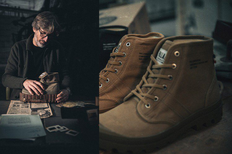 PALLADIUM復刻1947年問世的經典傳奇沙漠靴PALLABROUSSE,升...