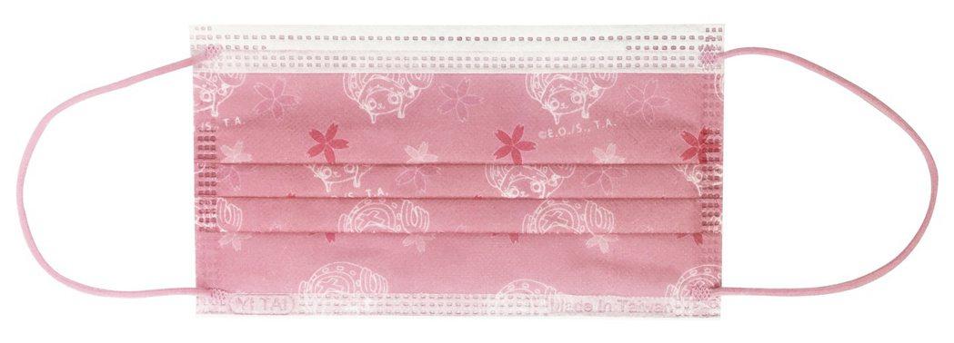 全家便利商店限量推出「喬巴櫻花款-航海王單入口罩」,2月24日至3月23日於全家...