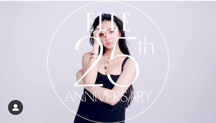 木村光希配戴寶格麗B.zero1系列珠寶再次拍攝日本時尚雜誌。圖/取自IG @k...