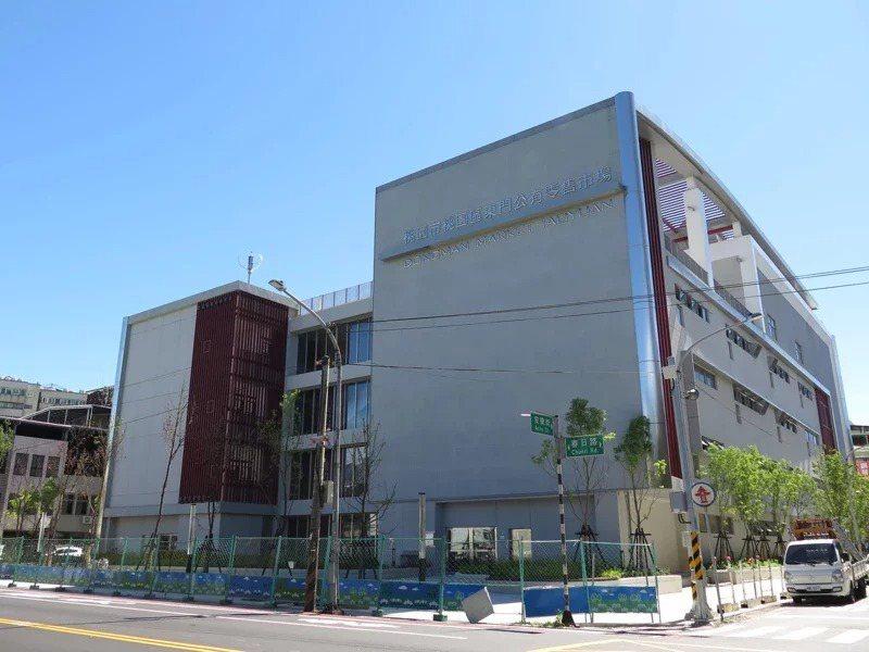 桃園市東門公有零售市場新建工程去年年底驗收完成,市府經發局預計今年8月營運。聯合報系資料照片