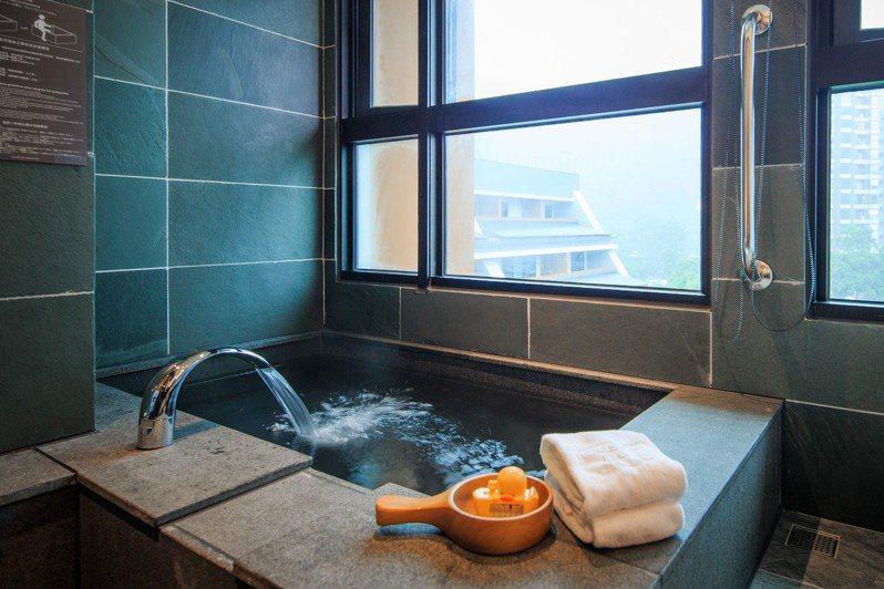 礁溪兆品酒店的228連假訂房狀況,比去年同期成長約兩成,其它的民宿飯店也大約持平。圖/兆品提供