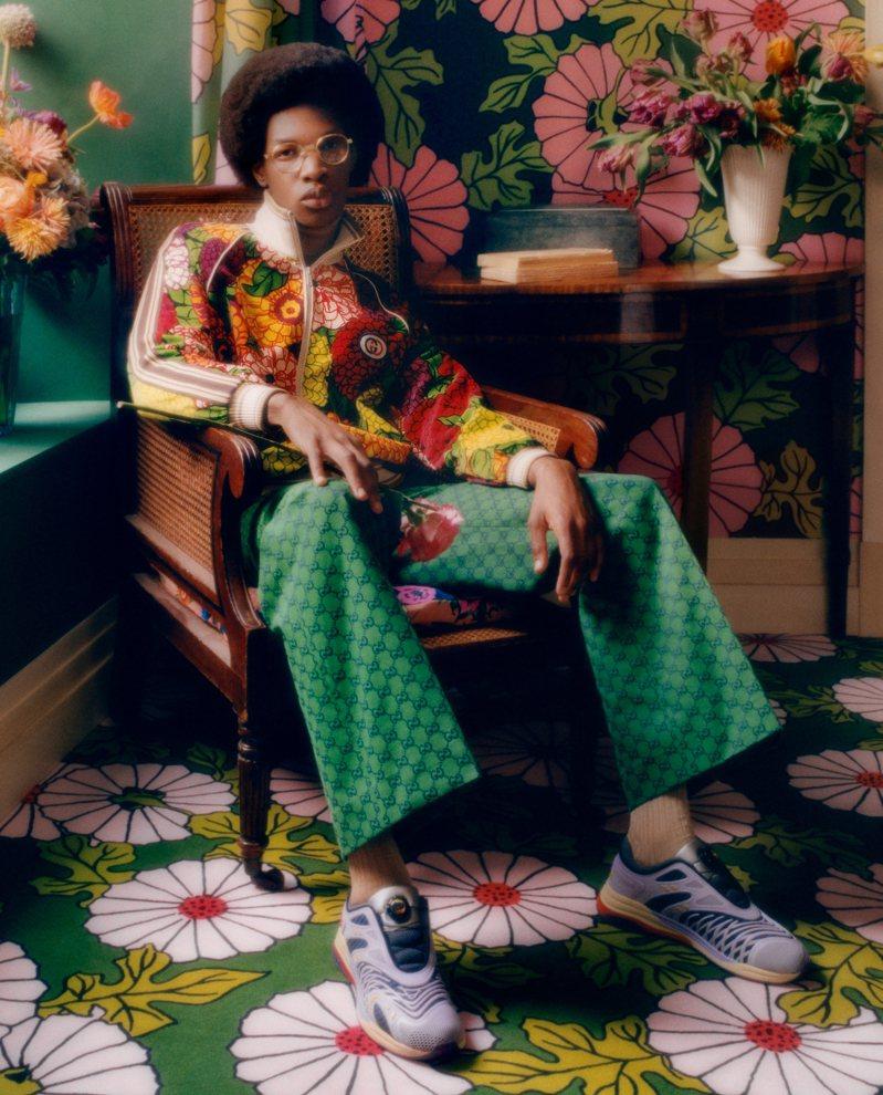 Gucci Ken Scott Collection近日正式上市。圖/Gucci提供