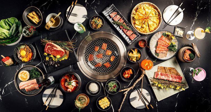 主打頂級韓食燒肉餐酒全新品牌「虎三同」獨家進駐遠百信義A13的14樓。圖/摘自虎三同粉絲團