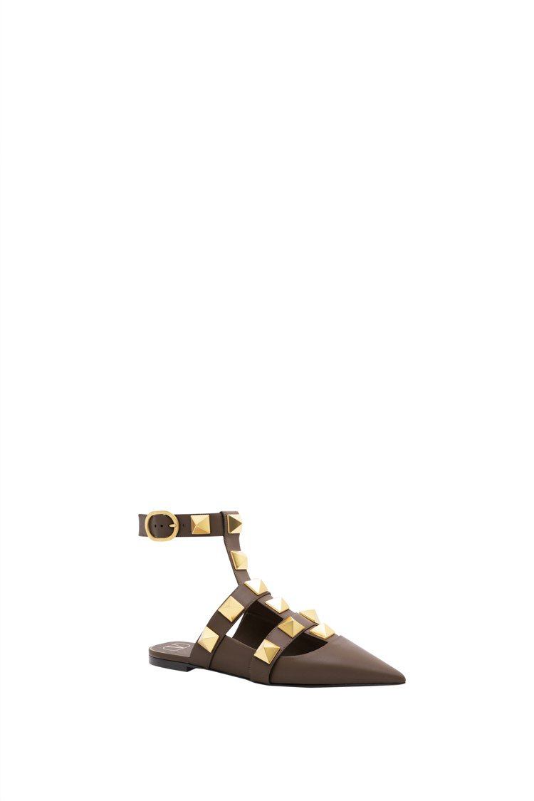 Valentino Garavani Roman Stud鞋,39,400元。圖...