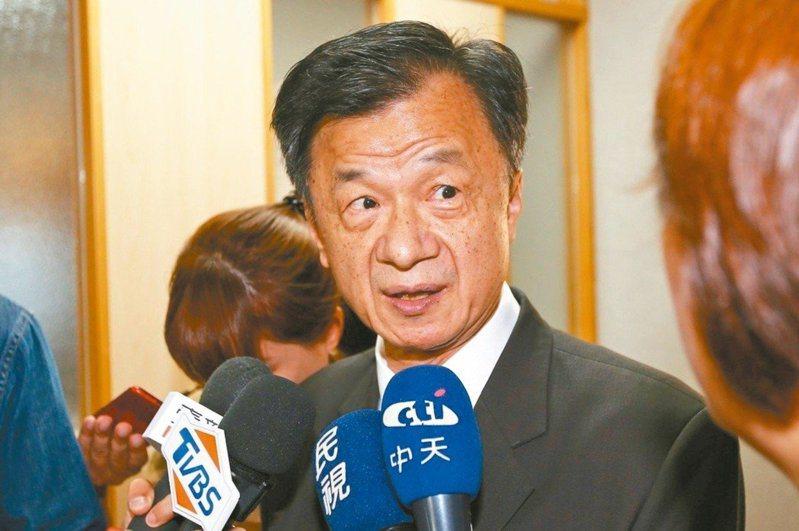 邱太三被任命為陸委會主委,他昨天上任後向對岸「喊話」,希望兩岸春暖花開。 圖/聯合報系資料照片