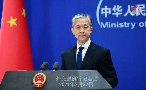 大陸外交部23日表示,中方正向53個有需求的國家提供疫苗無償援助。(圖/取自大陸外交部網站)