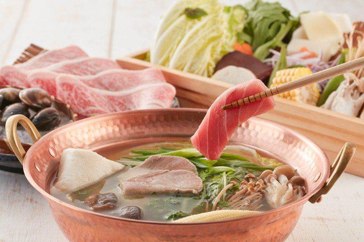 透過涮煮、丼飯、茶漬飯等型態,可帶來「黑鮪魚3吃」的樂趣。圖/乾杯提供