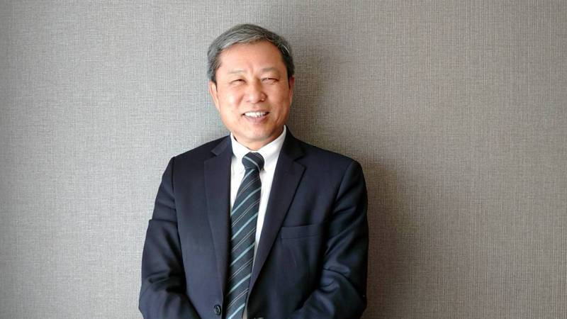 德麥總經理吳文欽。記者何秀玲/攝影