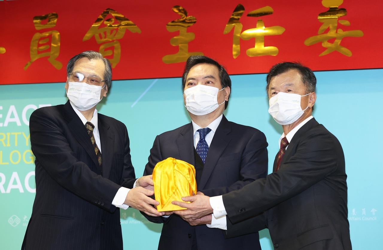 期待新氣象 陸委會新主委邱太三與大陸台商有約