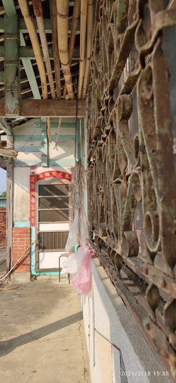 星卉台南老家恐將列為古蹟目前面臨拆除的命運。圖/星卉提供