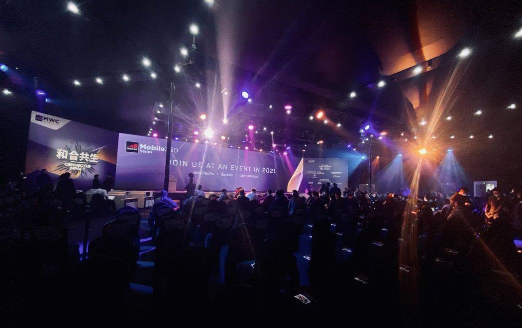 2021世界行動通訊大會(MWC) 上海今天開幕。  GSMA/提供