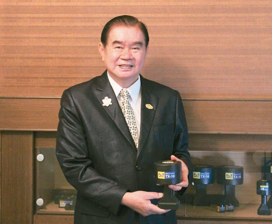 富偉集團總裁蕭文龍。富偉公司/提供