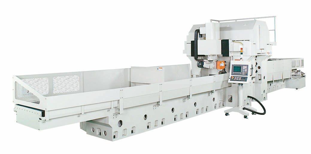 準力機械公司推出JL-50400CNC滑軌研磨機。準力機械/提供