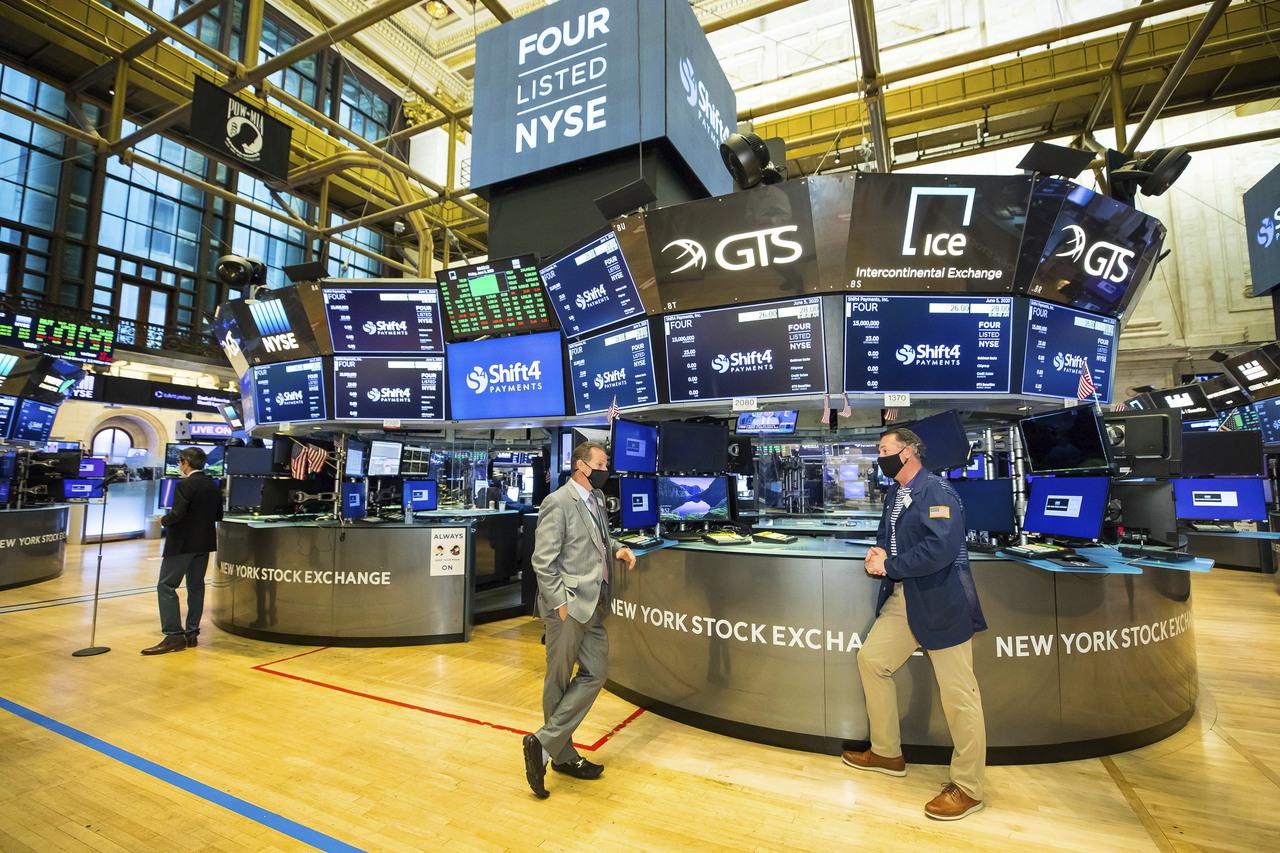 科技股領跌 美股三大指數早盤全面下挫