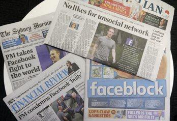 臉書和澳洲政府就引發爭議的媒體立法達成協議,將恢復在澳洲的新聞頁面。(美聯社)