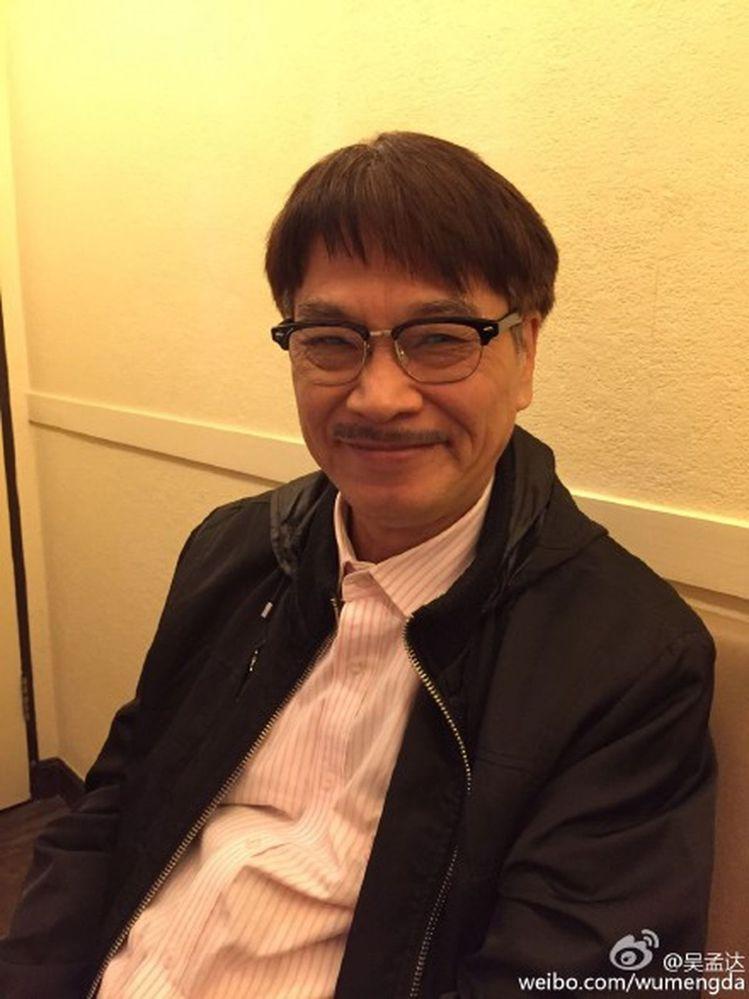 吳孟達2月27日因肝癌於仁安醫院逝世,享壽70歲。圖/摘自微博