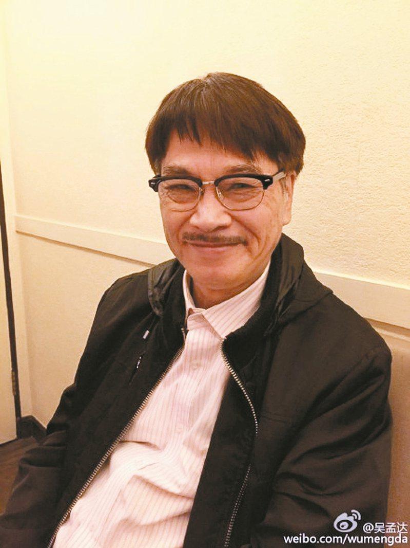 吳孟達今(27日)過世,享壽70歲。 圖╲摘自微博