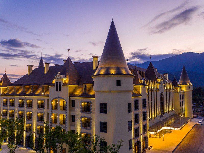 瑞穗天合國際觀光酒店,城堡造型吸睛,有台版「霍格華茲」之稱。業者/提供