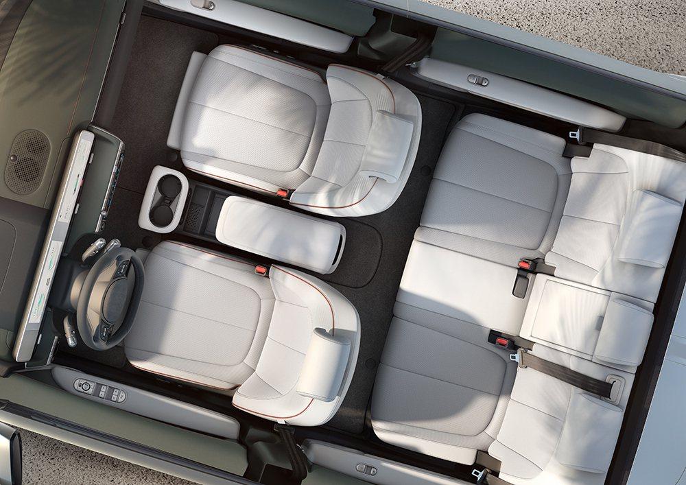 建構於集團E-GMP全球電動車模組化底盤平台上的全新Hyundai IONIQ ...