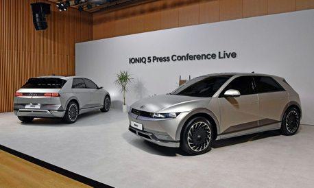 全新Hyundai IONIQ 5純電車訂單大爆發 預售首日接單2.3萬張創下新紀錄!