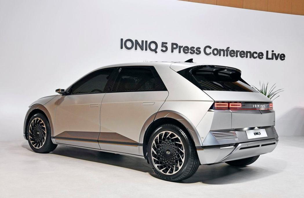 原廠設定全新Hyundai IONIQ 5在韓國年販目標為26,500台。 摘自...