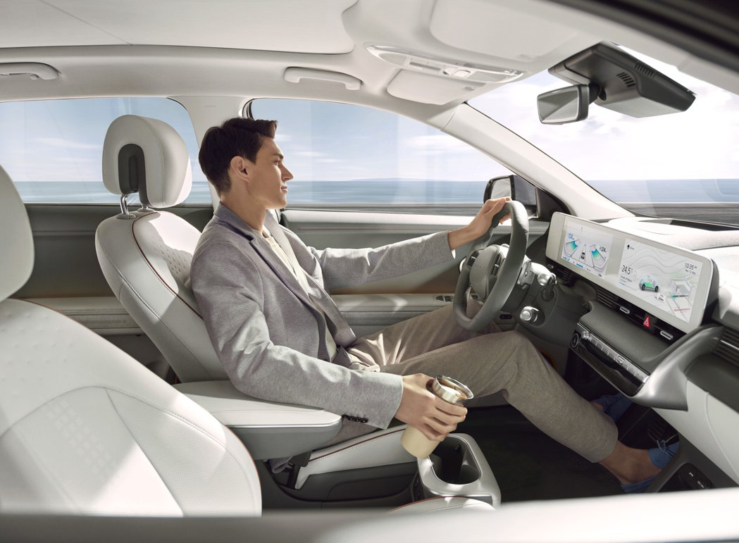 全新Hyundai IONIQ 5亦導入了品牌Hyundai SmartSens...