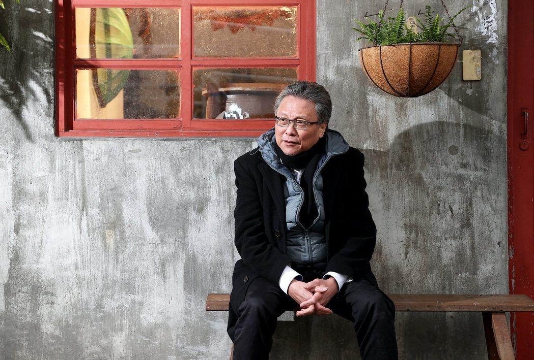 張大春寫老台北,著重在人與人的情感。記者余承翰/攝影