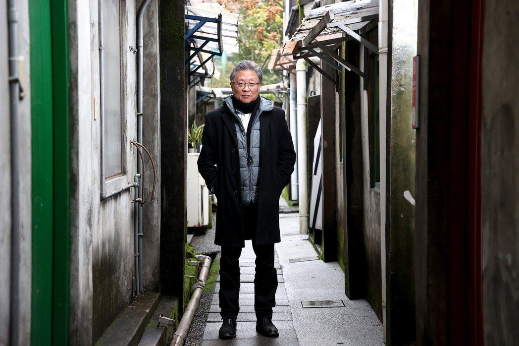 張大春集結老台北的回憶,也是整理自己的前半生。記者余承翰/攝影