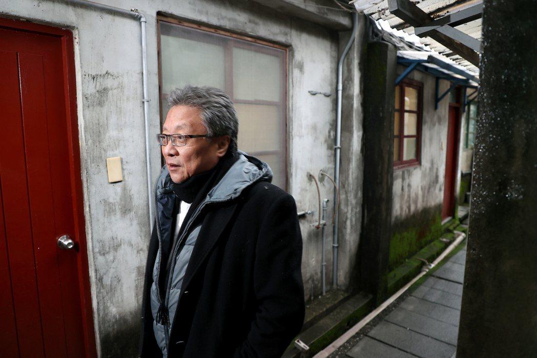 張大春回看解嚴前後老台北的活力與創造力。記者余承翰/攝影