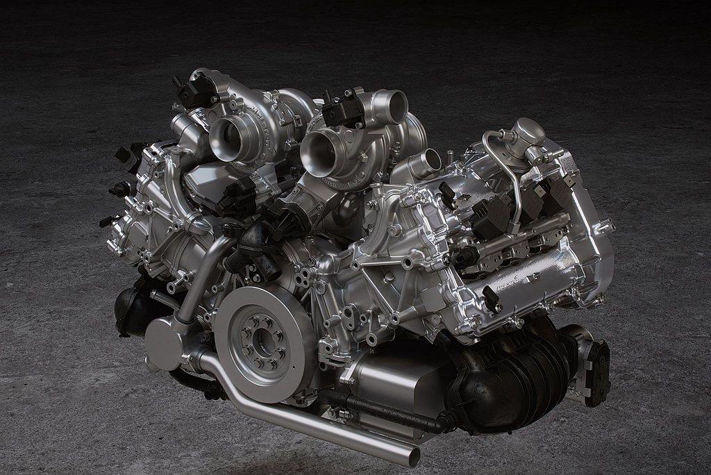 全新2,993c.c. V6雙渦輪McLaren M630引擎、軸向電磁馬達及7...