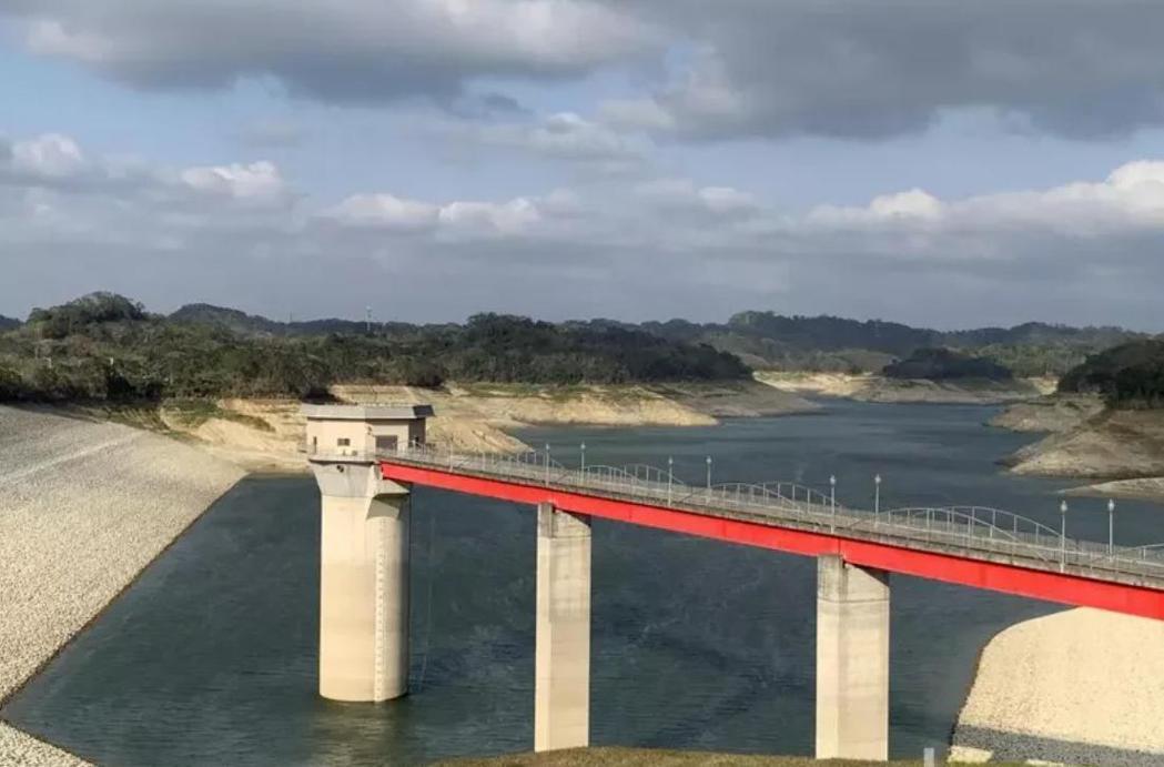 近期氣候異常,新竹寶山水庫水情告急。本報資料照片