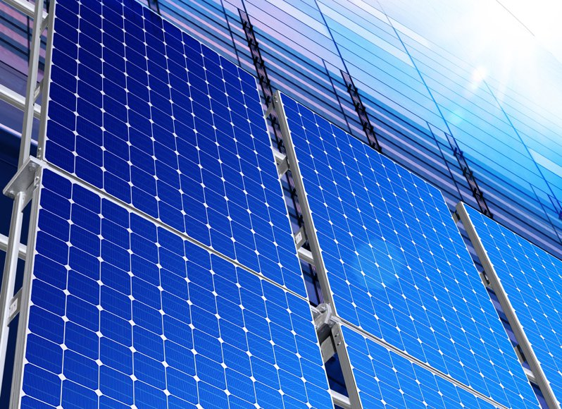 屋頂型太陽光電推動優於預期,今日太陽能股出現齊漲的強勢表現。示意圖/ingimage授權