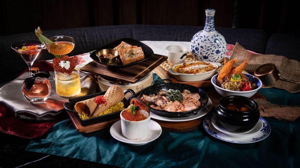 【隱世THE ARCADIA】時髦台味料理從晚餐吃到宵夜。 業者/提供