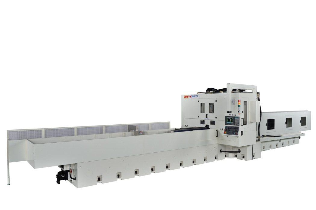 準力機械公司推出JL-20400CNC滑軌研磨機。 準力機械/提供